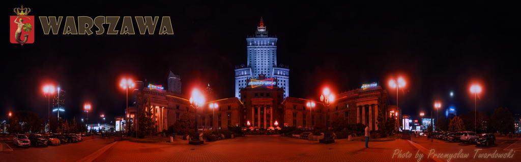 Варшава панорамы