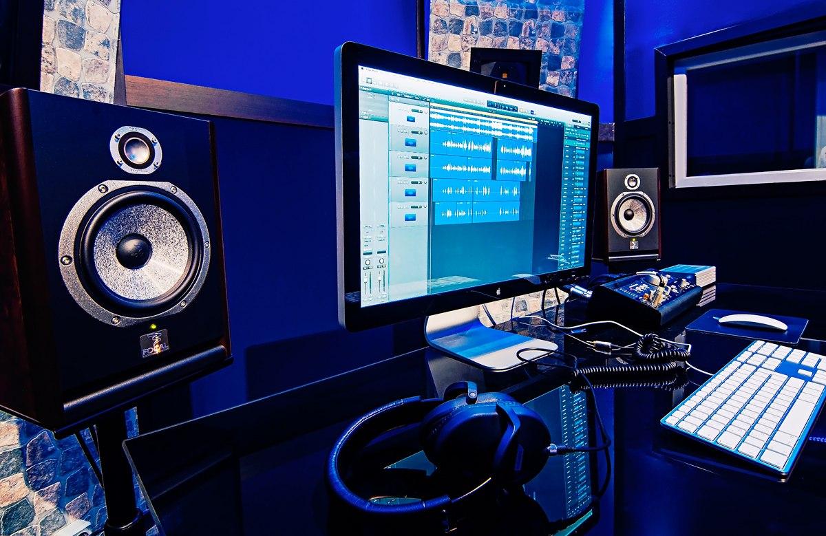 Интерьер. Студия звукозаписи MUS.Co