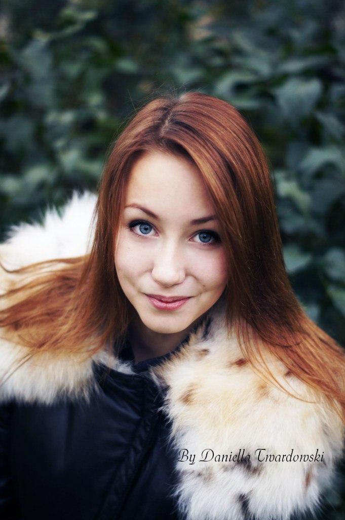 фотосессия Кристины осенью